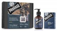 Proraso, zestaw: balsam + szampon do brody, Azur Lime, 200ml + 100ml