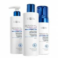Loreal Serioxyl, 3 - stopniowy zestaw wzmacniający do bardzo uwrażliwionych, cienkich włosów