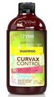 Three Therapy Curwax, szampon do włosów kręconych, 500g