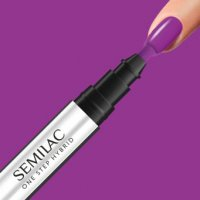 Semilac One Step Hybrid, lakier hybrydowy w markerze, 3ml, S760 Hyacinth Violet