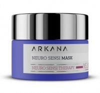 Arkana, neuro-maska na noc dla skór naczyniowych i ekstremalnie wrażliwych, 50 ml, ref. 64002