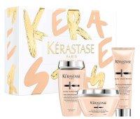 Kerastase Curl Manifesto, zestaw prezentowy: kąpiel + maska + krem, 250ml+200ml+150ml