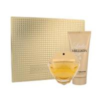 Paco Rabanne Lady Million, zestaw perfum, EDP 80ml+100ml balsam do ciała (W)