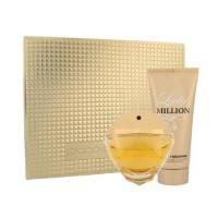 Paco Rabanne Lady Million, zestaw perfum, EDP 80ml+100ml balsam do ciała (W)