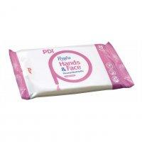 PDI Hygea Hands & Face, chusteczki do mycia i pielęgnacji twarzy i rąk, 195x155mm, 24szt.