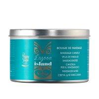 Peggy Sage, świeca do masażu Lagoon Island, 120g, ref. 480250