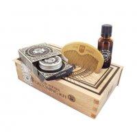 Dear Barber Beard Grooming, zestaw do pielęgnacji brody, olejek 30ml+balsam 30ml+grzebień