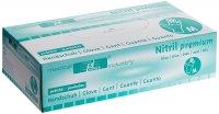 Medical Industry rękawiczki nitrylowe Premium, rozmiar M, bez pudru, niebieskie, 100 szt.