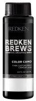 Redken Brews Color Camo, zestaw: 5-minutowa koloryzacja dla mężczyzn, 3x60ml