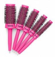 Termix C-Ramic Bubblegum Pink, zestaw 5 szczotek, różne rozmiary