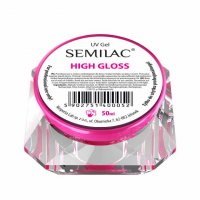 Semilac UV Gel Expert, żel do paznokci, High Gloss, 50ml