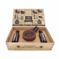 Dear Barber zestaw: szampon 50ml, odżywka 50ml, krem modelujący 100ml