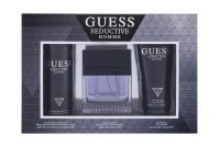 Guess Seductive Homme, zestaw: Edt 100 ml + Dezodorant 226 ml + Żel pod prysznic 200 ml (M)