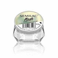 Semilac, SemiFLASH, pyłek do paznokci, 681 Aurora Gold&Green, 0,5g