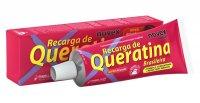 Odżywczy i stylizujący krem z keratyną Novex Brazilian Keratin, 80g - ze zwrotu, uszkodzone pudełko