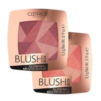Catrice Blush Box Glowing+Multicolour, rozświetlający róż wielokolorowy