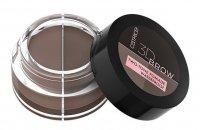 Catrice 3D Brow, wodoodporna pomada do brwi 2w1, brown 020, 5g
