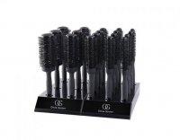 Olivia Garden Black Label XL, zestaw szczotek, display, 18 szt
