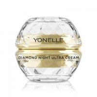 Yonelle Diamond, diamentowy ultra krem na noc na twarz i usta, 50ml