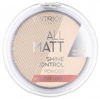 Catrice All Matt Shine Control, matujący puder koloryzujący 100, 10g
