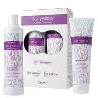 Fanola No Yellow Ocean Collection, zestaw ochładzający blond, szampon 350ml + maska 300ml