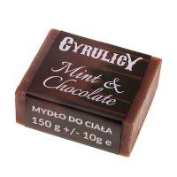 Cyrulicy, mydło do ciała Mint & Chocolate, ok. 150g