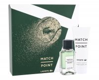 Lacoste Match Point, zestaw: Edt 50 ml + Żel pod prysznic 75 ml (M)