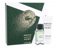 Lacoste Match Point, zestaw: Edt 50 ml + Żel pod prysznic 75 ml (M)