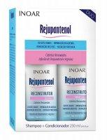 Inoar Rejupantenol Duo Pack, szampon + odżywka, 2x250ml