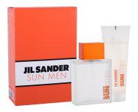 Jil Sander Sun Men, zestaw: Edt 75ml + 75ml Żel pod prysznic (M)
