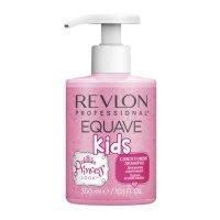 Revlon Equave Kids, szampon dla dziewczynek ułatwiający rozczesywanie, 300ml