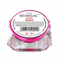 Semilac UV Gel Expert Rosa, żel do paznokci, 50ml
