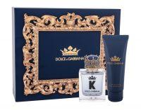 Dolce&Gabbana K, zestaw: Edt 50 ml + Balsam po goleniu 75 ml (M)