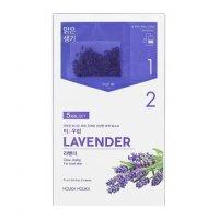 Holika Holika Tea:woolin - Lavender, dwuskładnikowa maseczka w płachcie