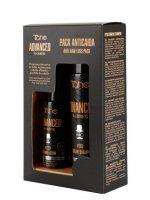 Tahe Advanced Barber, zestaw przeciw wypadaniu włosów, szampon 300ml + lotion 125ml