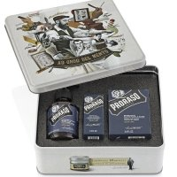 Proraso Vintage, zestaw do pielęgnacji brody i wąsów, Azur Lime, 200ml + 100ml + 30ml