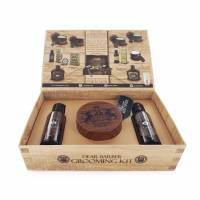 Dear Barber zestaw: szampon 50ml, odżywka 50ml, pasta matująca 100ml