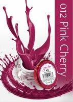 Żel kolorowy Semilac UV Gel, 012 Pink Cherry, 5ml - krótka data ważności (9.2020)