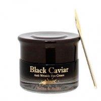 Holika Holika Black Caviar, krem przeciwzmarszczkowy pod oczy z czarnym kawiorem, 30ml