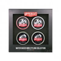 Uppercut, Mini Styling Collection, zestaw pomad, 4x18g