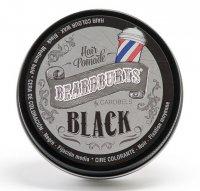 Koloryzujący wosk do włosów Beardburys, czarny, 100ml - wgniecenie