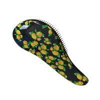 Macadamia Tuft Detangle, szczotka do rozczesywania włosów, motyw kwiatki
