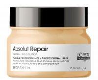 Loreal Absolut Repair, maska regenerująca włosy uwrażliwione, 250ml