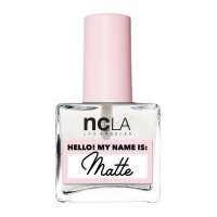 NCLA Hello! My name is: Matte, matowy top coat, 15ml
