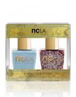 NCLA, zestaw lakierów do paznokci, Commander In Chic, 2x15ml