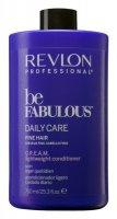 Revlon Be Fabulous, lekka odżywka do włosów cienkich, 750ml