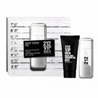 Carolina Herrera 212 VIP Men, zestaw perfum EDT 100ml + 100ml żel pod prysznic (M)
