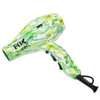 Fox Art, suszarka kompaktowa z jonizacją +dyfuzor, green peony