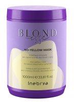 Inebrya Blondesse No Yellow, maska do włosów, 1000ml
