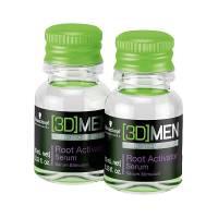 Schwarzkopf 3DMen Root Activator, serum przeciw wypadaniu włosów dla mężczyzn, ampułka 10ml